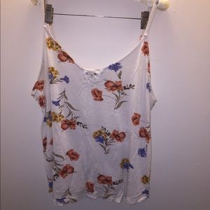 Forever 21 Floral Cami Blouse